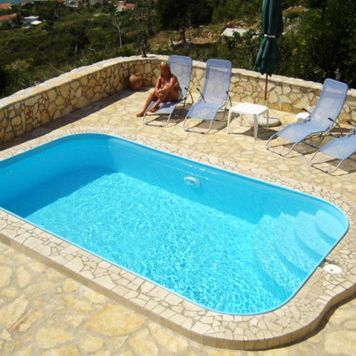Piscine in polipropilene