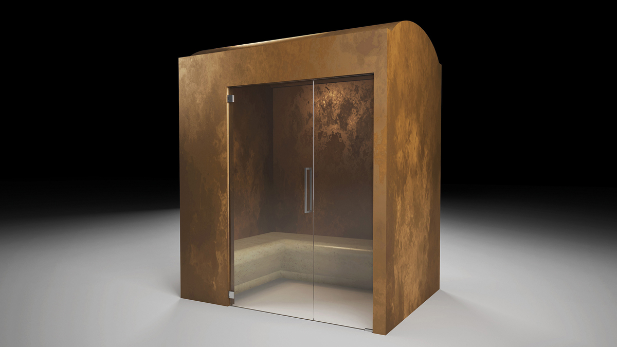 prefabricated cabin for hammam la veneta forme