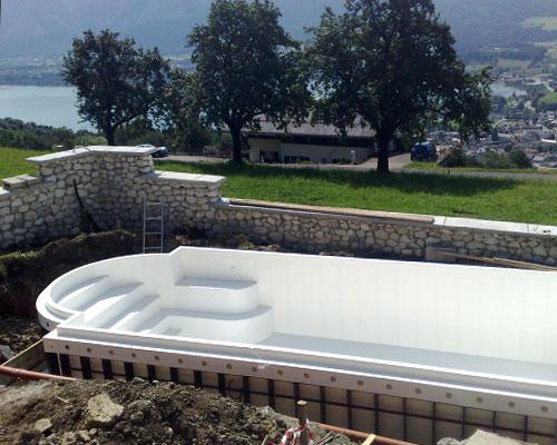Swimming Pools in polypropylene - La Veneta Forme