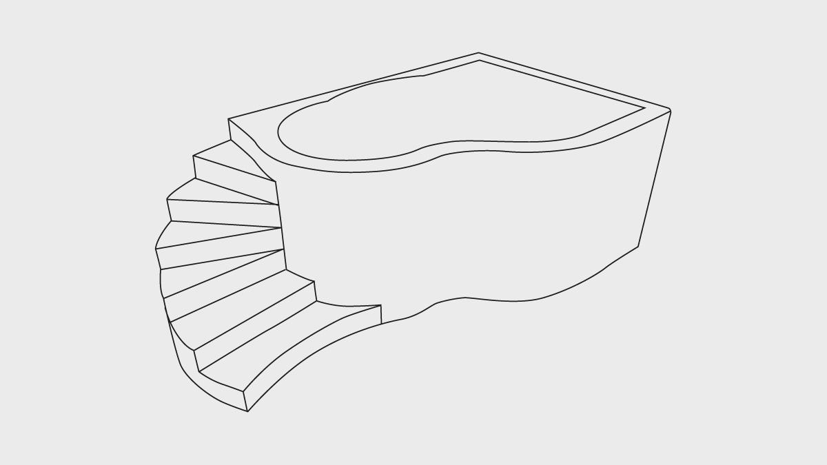 Vasche di qualsiasi grandezza e forma - La Veneta Forme